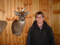 Aaron Laubach's First Buck 2013
