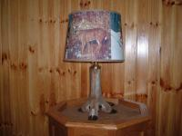 Deer Foot Lamp For Sale 150 plus Tax