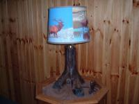 Elk Foot Lamp For Sale 195 plus Tax
